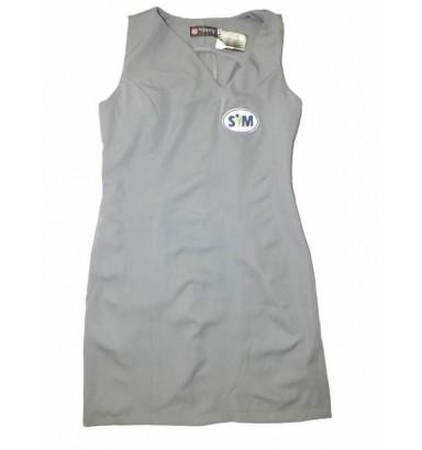 Vestido decote assimétrico 6045