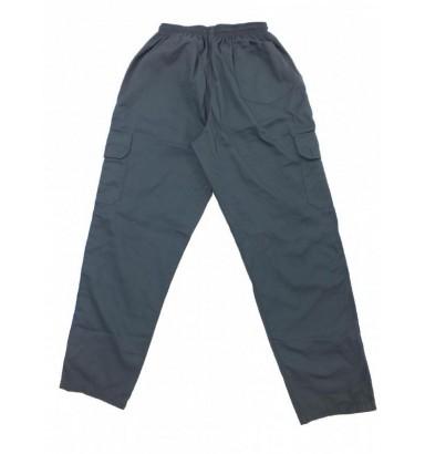 Calça oper. c/bolso cargo e faixa lateral - 2501